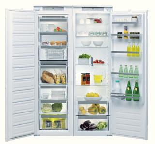 Whirlpool beépíthető hűtő: fehér szín - ARG 18081