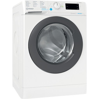 Indesit Wasmachine Vrijstaand BWEBE 91485X WK N Wit Voorlader B Perspective