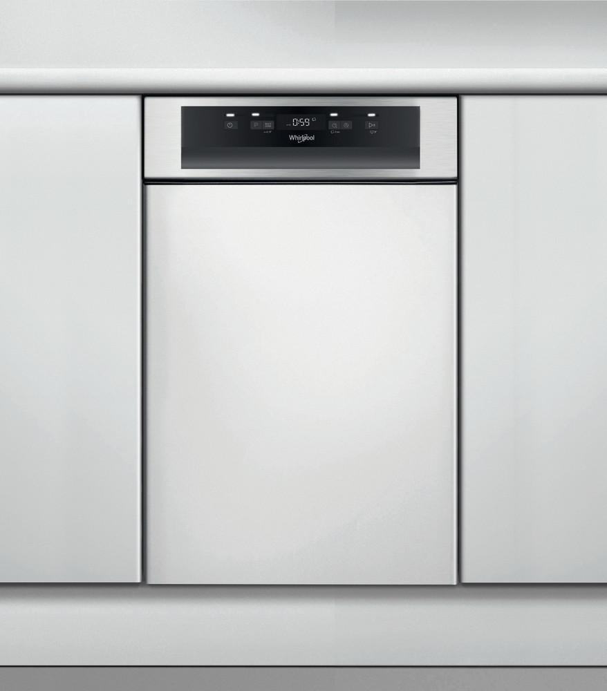 Whirlpool Maşină de spălat vase Incorporabil WSBC 3M17 X Half-integrated A + Frontal