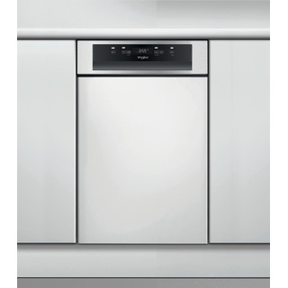 Whirlpool Πλυντήριο πιάτων Εντοιχιζόμενο WSBC 3M17 X Half-integrated A+ Frontal