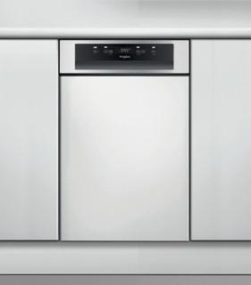 Whirlpool félig integrált mosogatógép: Inox szín, keskeny - WSBC 3M17 X
