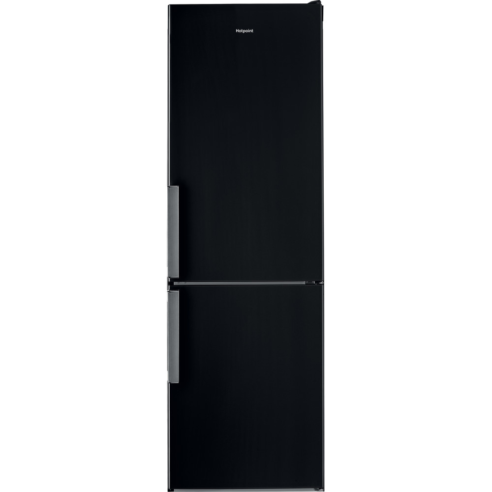 Hotpoint Fridge Freezer Free-standing H5T 811I K H 1 Black 2 doors Frontal