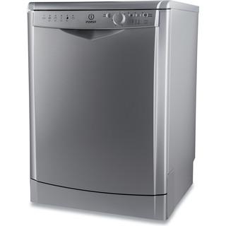 Indesit mašina za pranje posuđa: slim, Inox boja