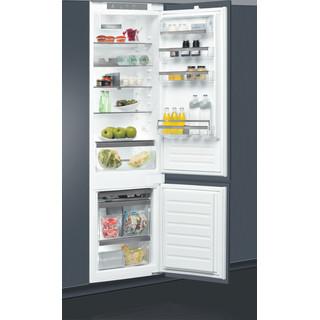 Whirlpool Kombinētais ledusskapis/saldētava Iebūvējams ART 9811 SF2 Balta 2 doors Perspective open
