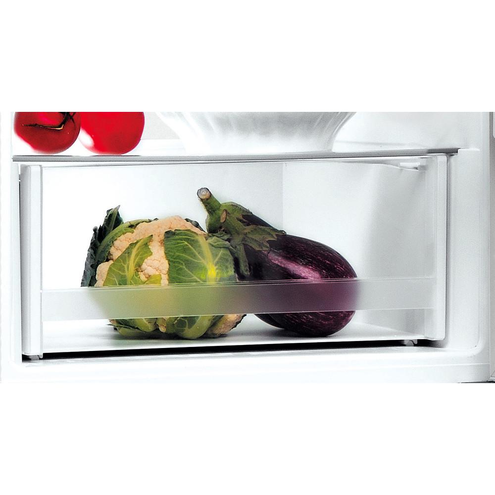 Indesit Kombinovaná chladnička s mrazničkou Volně stojící LI7 S2E S Stříbrný 2 doors Drawer