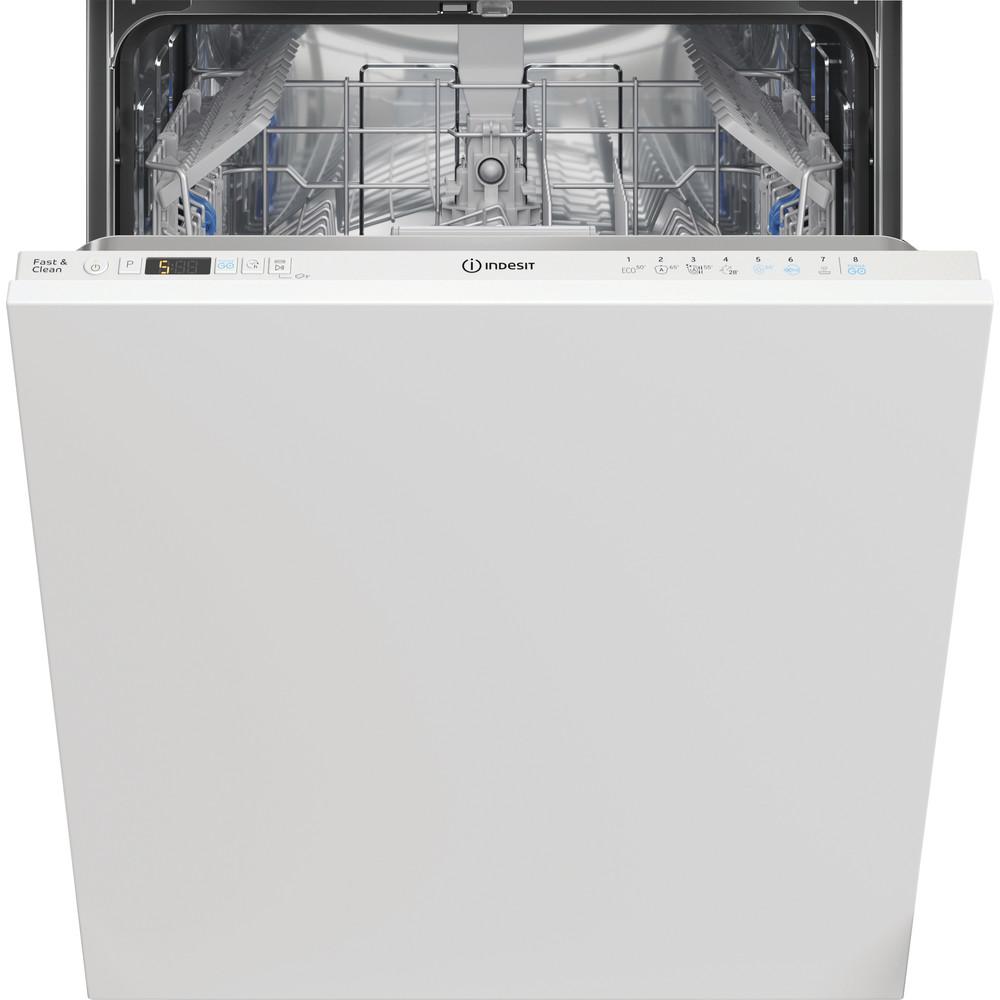 Indesit Lave-vaisselle Encastrable DIC 3C24 A Tout intégrable E Frontal
