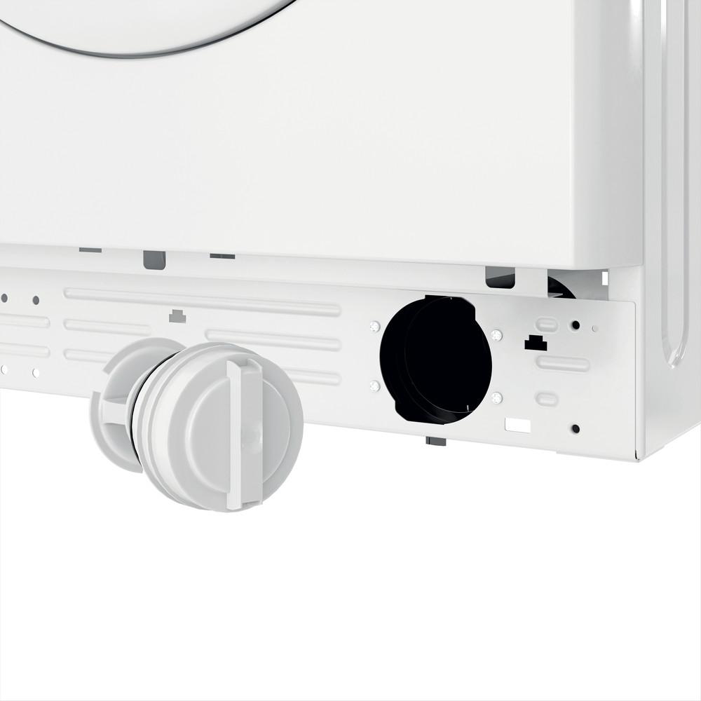 Indsit Maşină de spălat rufe Independent MTWE 71252 W EE Alb Încărcare frontală A +++ Filter