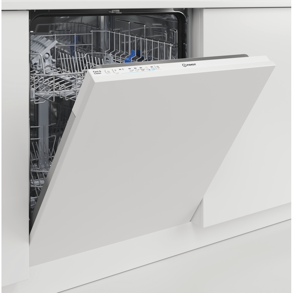Indesit Dishwasher Built-in DIE 2B19 UK Full-integrated F Lifestyle perspective
