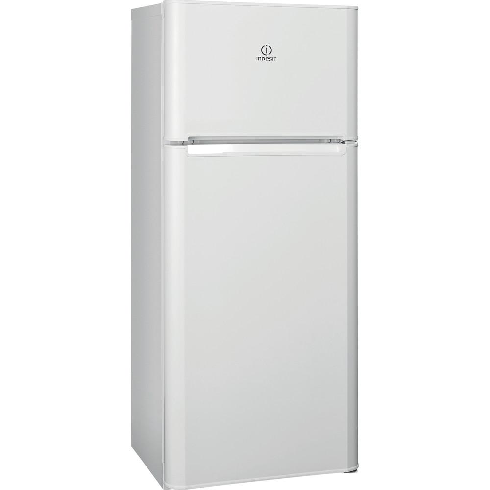 Indesit Холодильник с морозильной камерой Отдельно стоящий TIAA 14 (UA) Белый 2 doors Perspective
