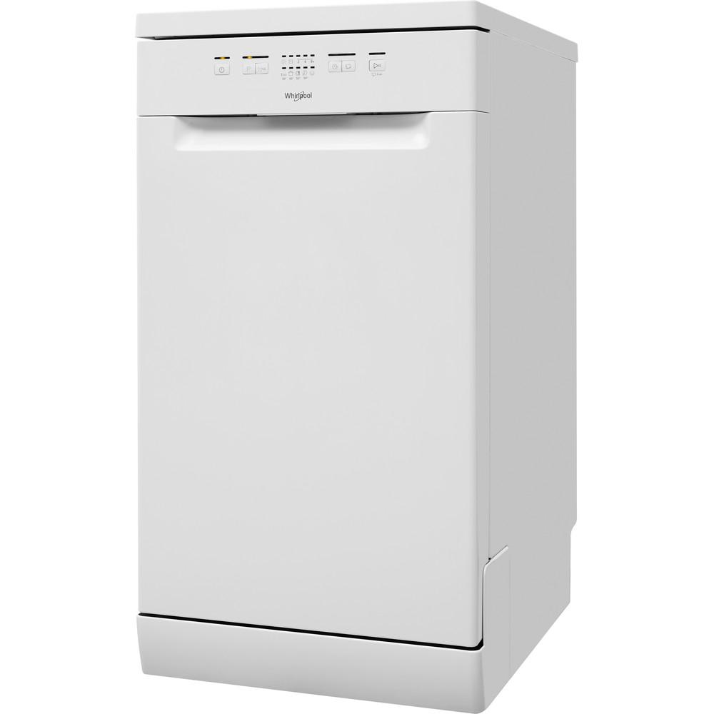 Посудомийна машина Whirlpool: білий колір, вузька - WSFE 2B19