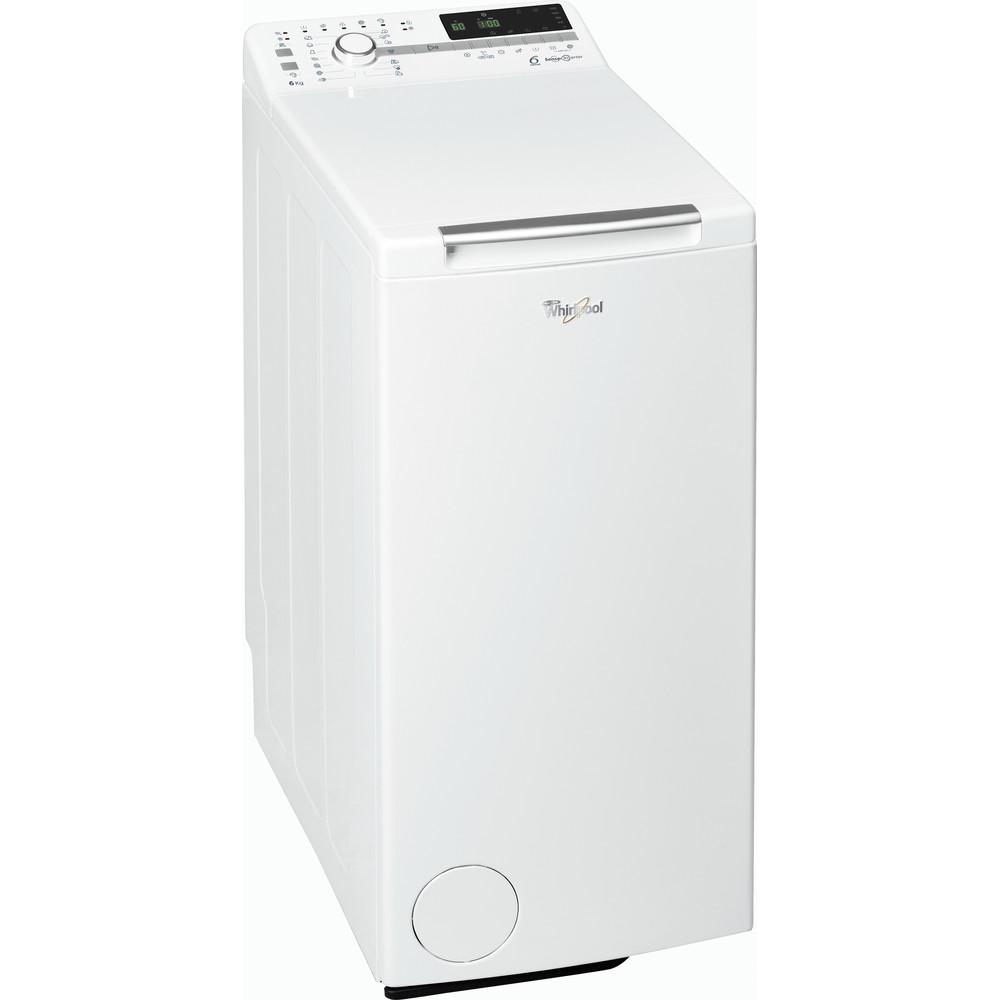 Whirlpool toppmatad tvättmaskin: 6 kg - TDLR 60220