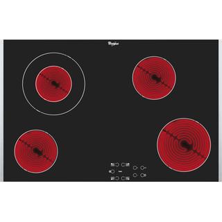 Whirlpool AKT 8330/LX Keramische Kookplaat - Inbouw - 4 kookzones