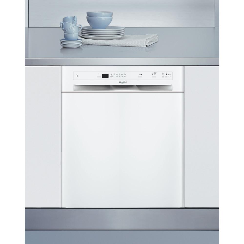 Whirlpool diskmaskin: färg vit, 60 cm - ADPU 2330 WH