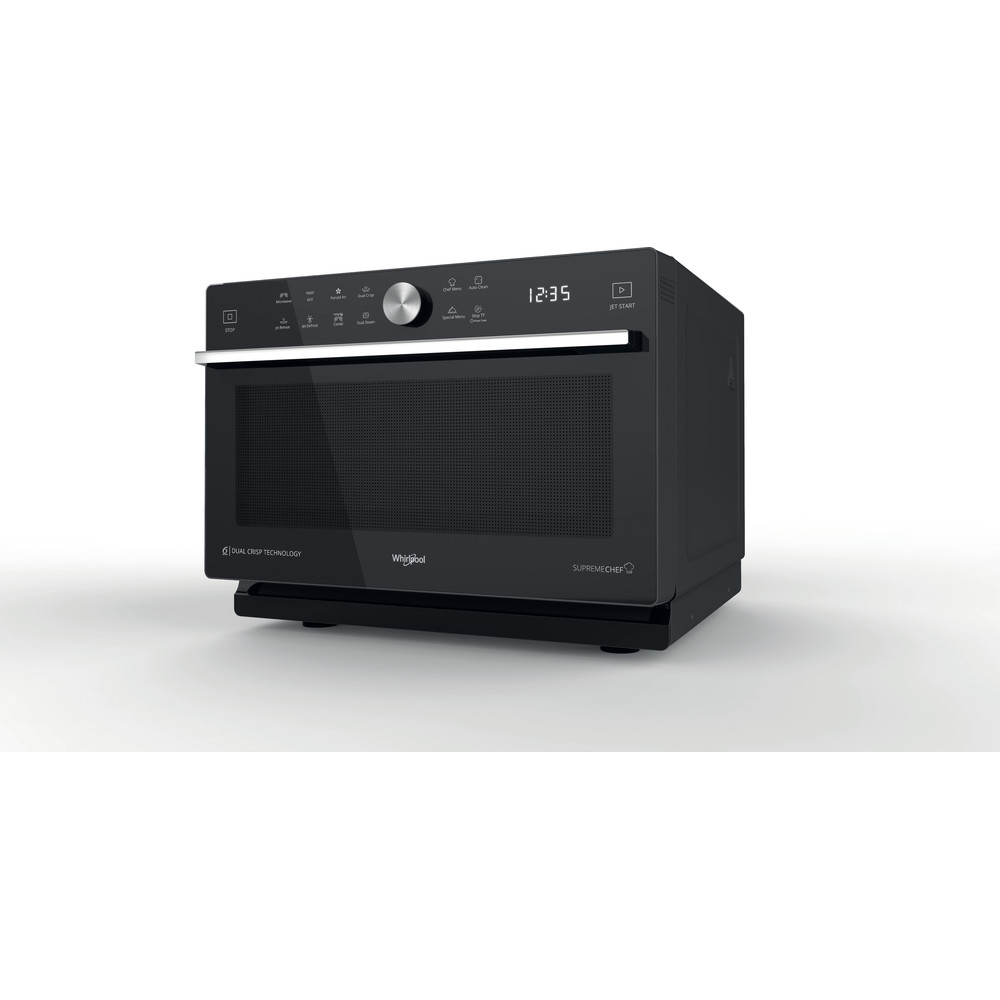 Horno microondas de libre instalación Whirlpool: color negro - MWP 339 B