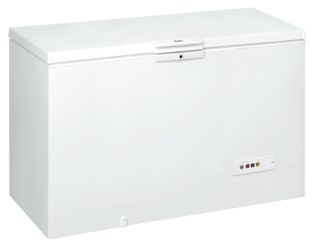 Whirlpool الفريزر مفرد CF600 T أبيض Perspective