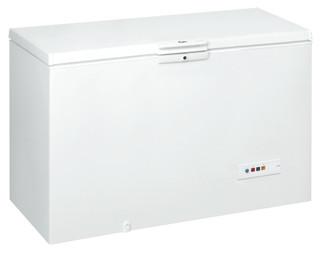 مجمد أفقي من ويرلبول : لون أبيض - CF 600 T
