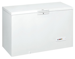 Whirlpool freestanding chest freezer: white color - CF600 T