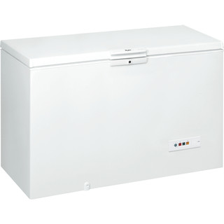 Whirlpool Freezer Free-standing WHM4611.1 White Perspective