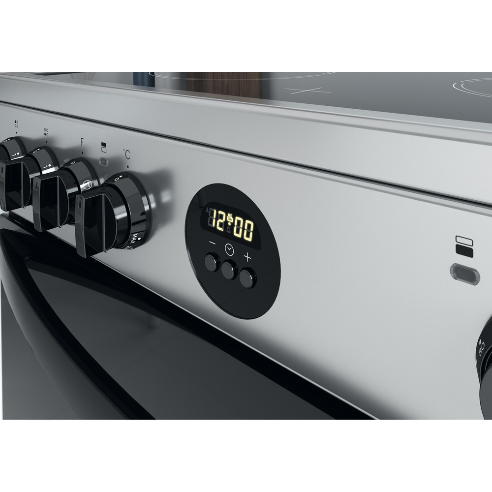Indesit Double Cooker ID67V9HCX/UK Inox A Control panel