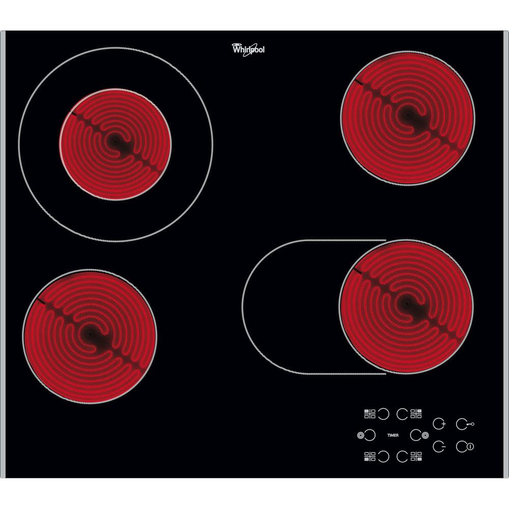 Whirlpool AKT 8210 LX Elektrische kookplaat - Inbouw - 4 elektrische zones