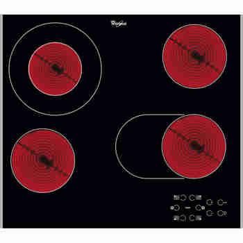 Whirlpool Płyta grzewcza AKT 8210 LX Czarny Radiant vitroceramic Heating element