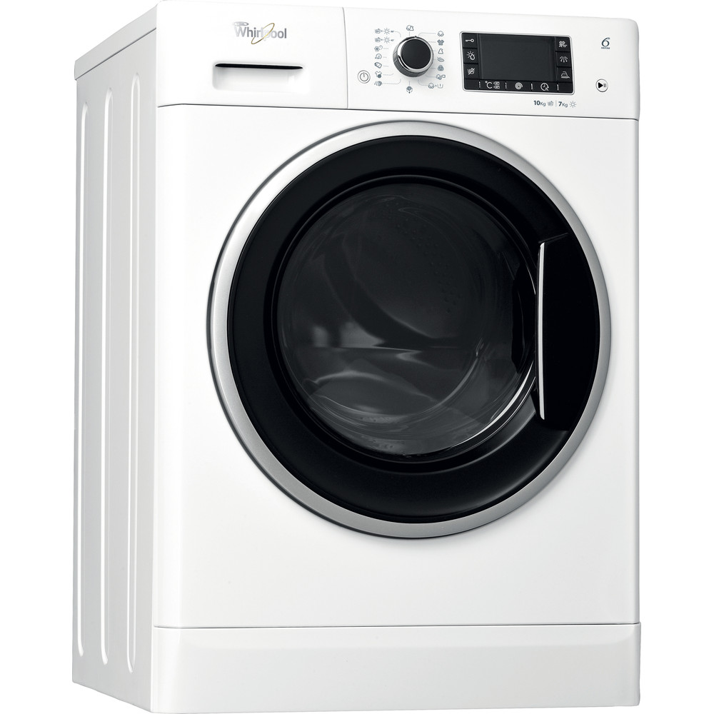 Прально-сушильна машина Whirlpool соло: 10 кг - WWDP 10716