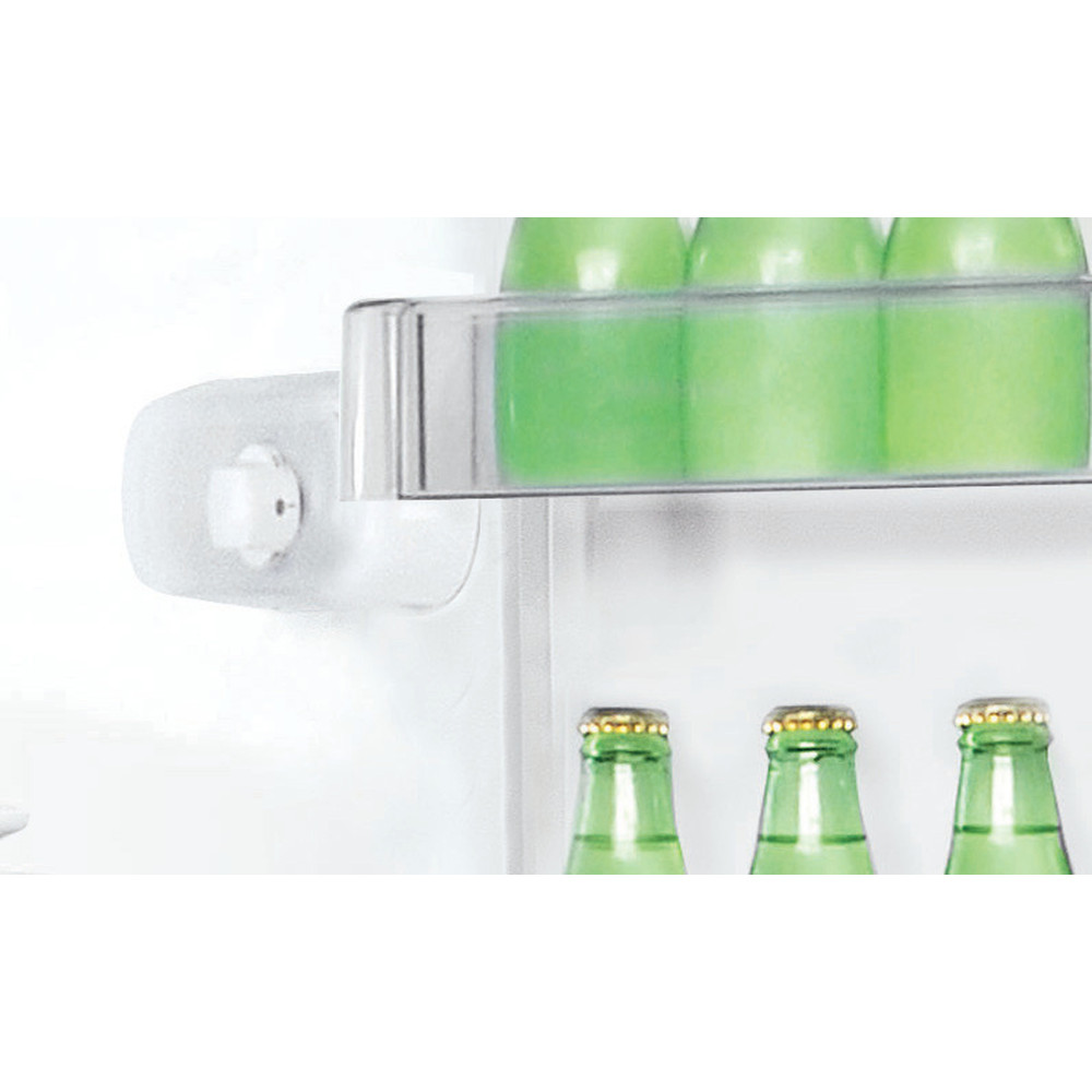 Indesit Kombinovaná chladnička s mrazničkou Voľne stojace LR7 S2 W Biela 2 doors Control panel