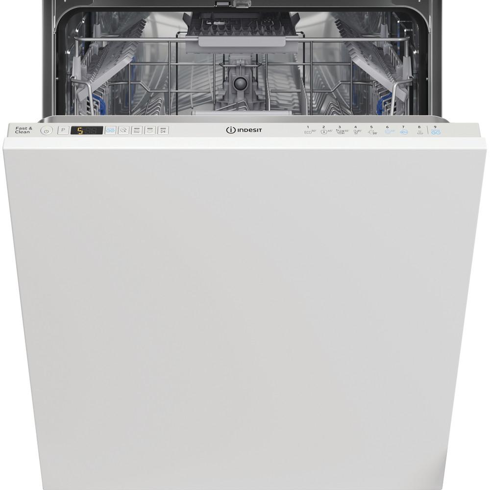 Indesit Πλυντήριο πιάτων Εντοιχιζόμενο DIO 3C24 AC E Full-integrated Ε Frontal