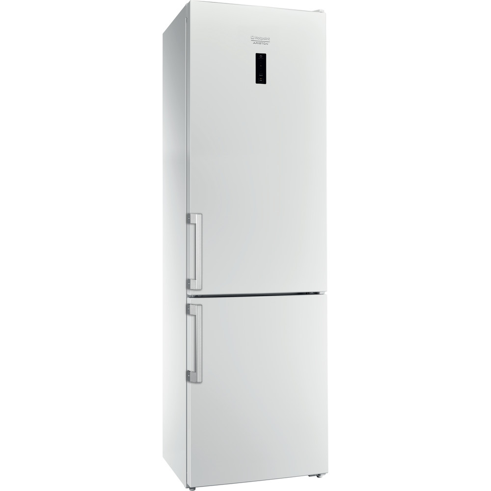 Hotpoint_Ariston Комбинированные холодильники Отдельностоящий RFC 20 W Белый 2 doors Perspective