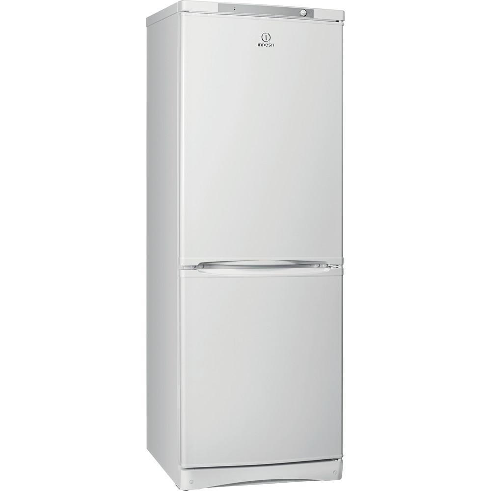 Indesit Холодильник с морозильной камерой Отдельностоящий ES 16 Белый 2 doors Perspective