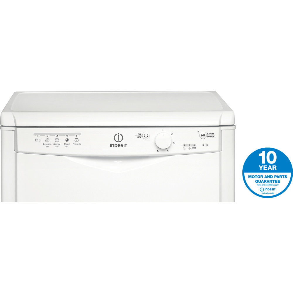Indesit Dishwasher Free-standing DFG 15B1 UK Free-standing A Award