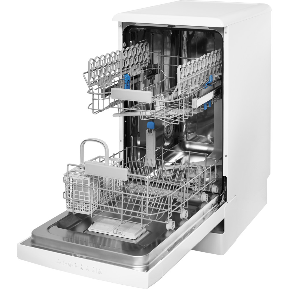 Indesit Посудомоечная машина Отдельностоящий DSFC 3T117 Отдельностоящий A Perspective open