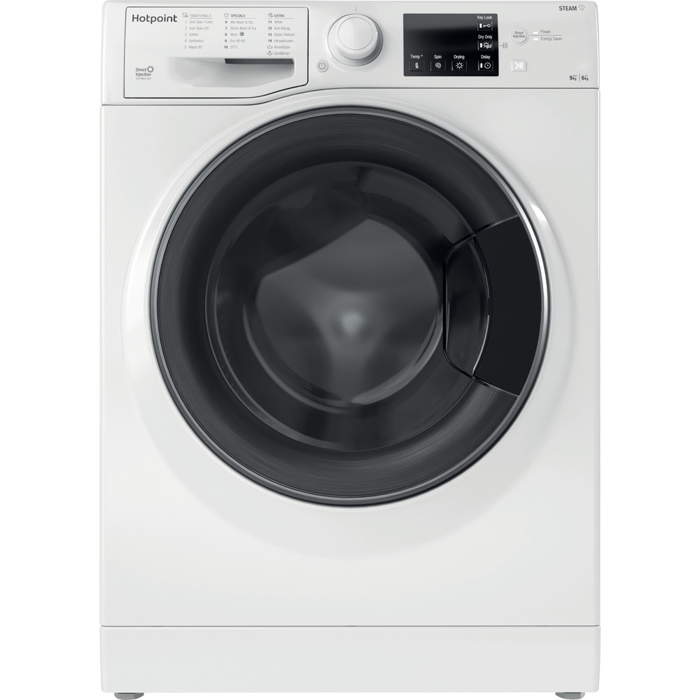 Hotpoint Washer dryer Free-standing RD 964 JD UK N White Front loader Frontal