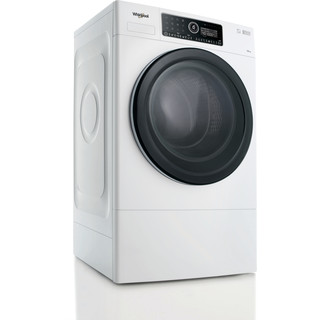 Whirlpool Washing machine Free-standing FSCR12441 White Front loader A+++ Perspective