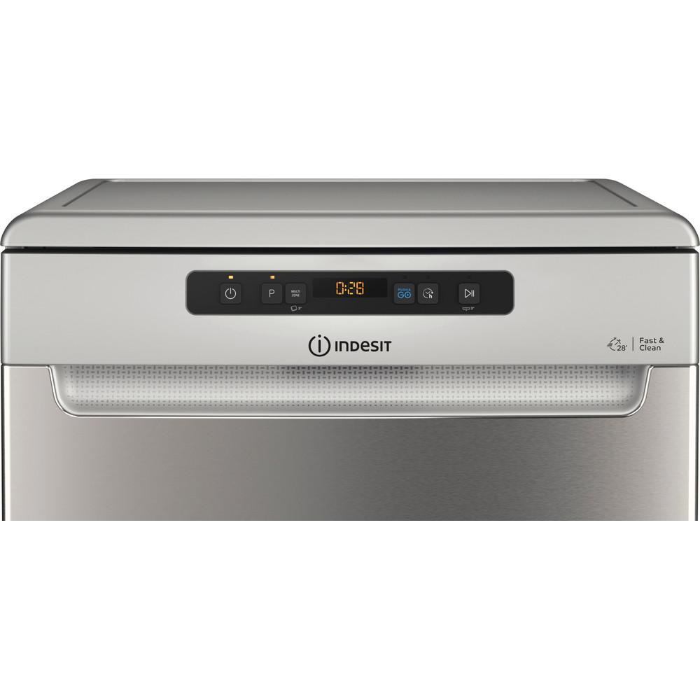 Indesit Máquina de lavar loiça Livre Instalação DFO 3C23 A X Livre Instalação E Control panel