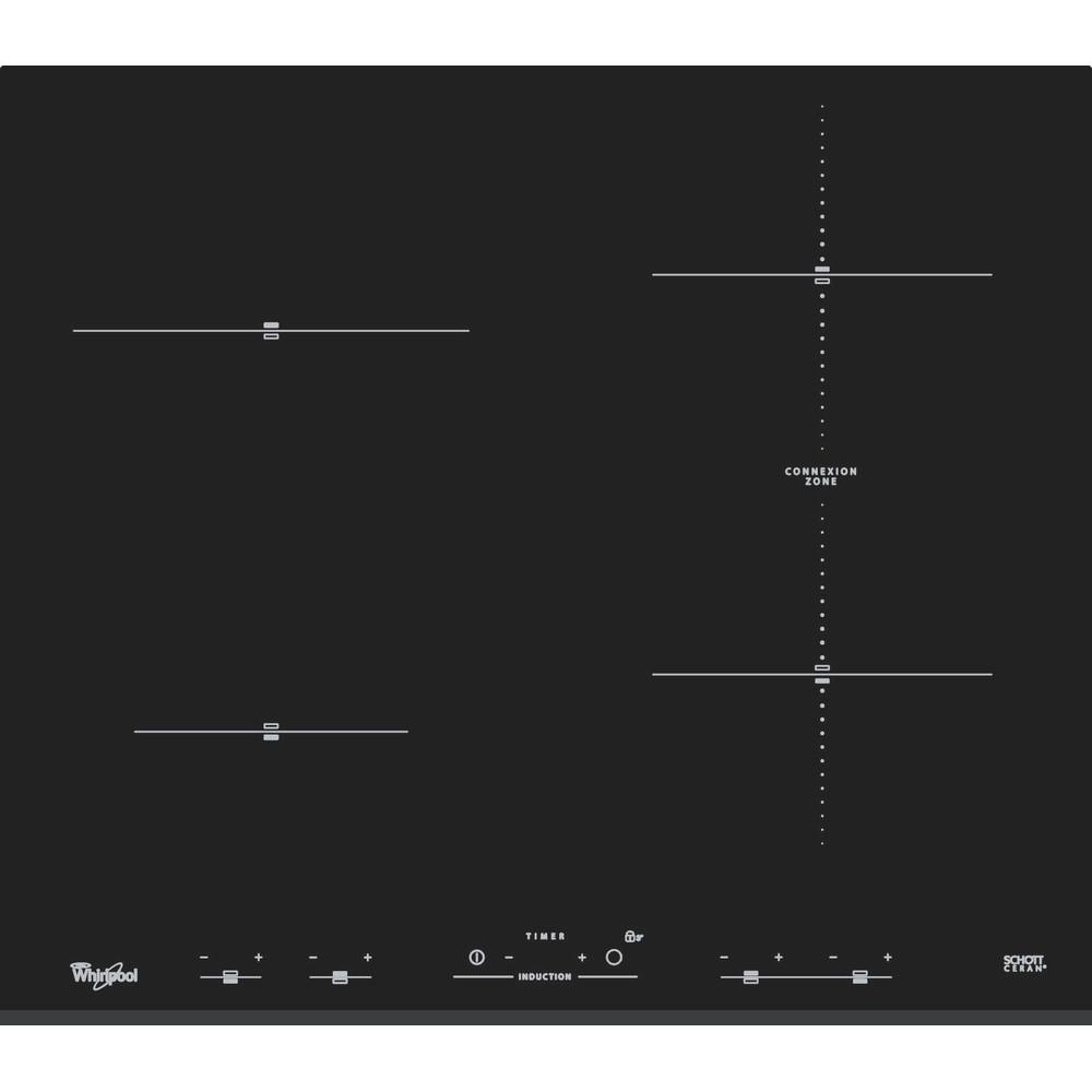 Індукційна склокерамічна варильна поверхня Whirlpool - ACM 932/BF