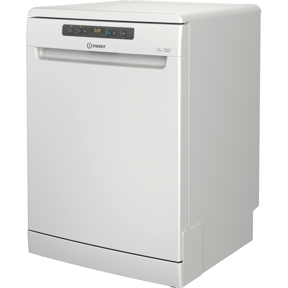 Indesit Dishwasher Free-standing DFO 3T133 F UK Free-standing D Perspective
