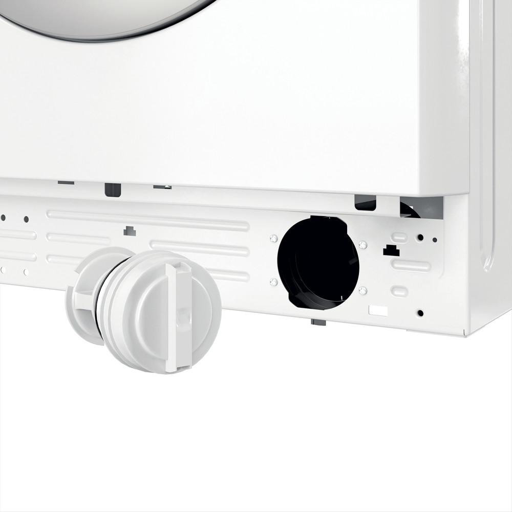 Indesit Pralka Wolnostojące MTWSA 51252 WS PL Biel Ładowany od frontu F Filter