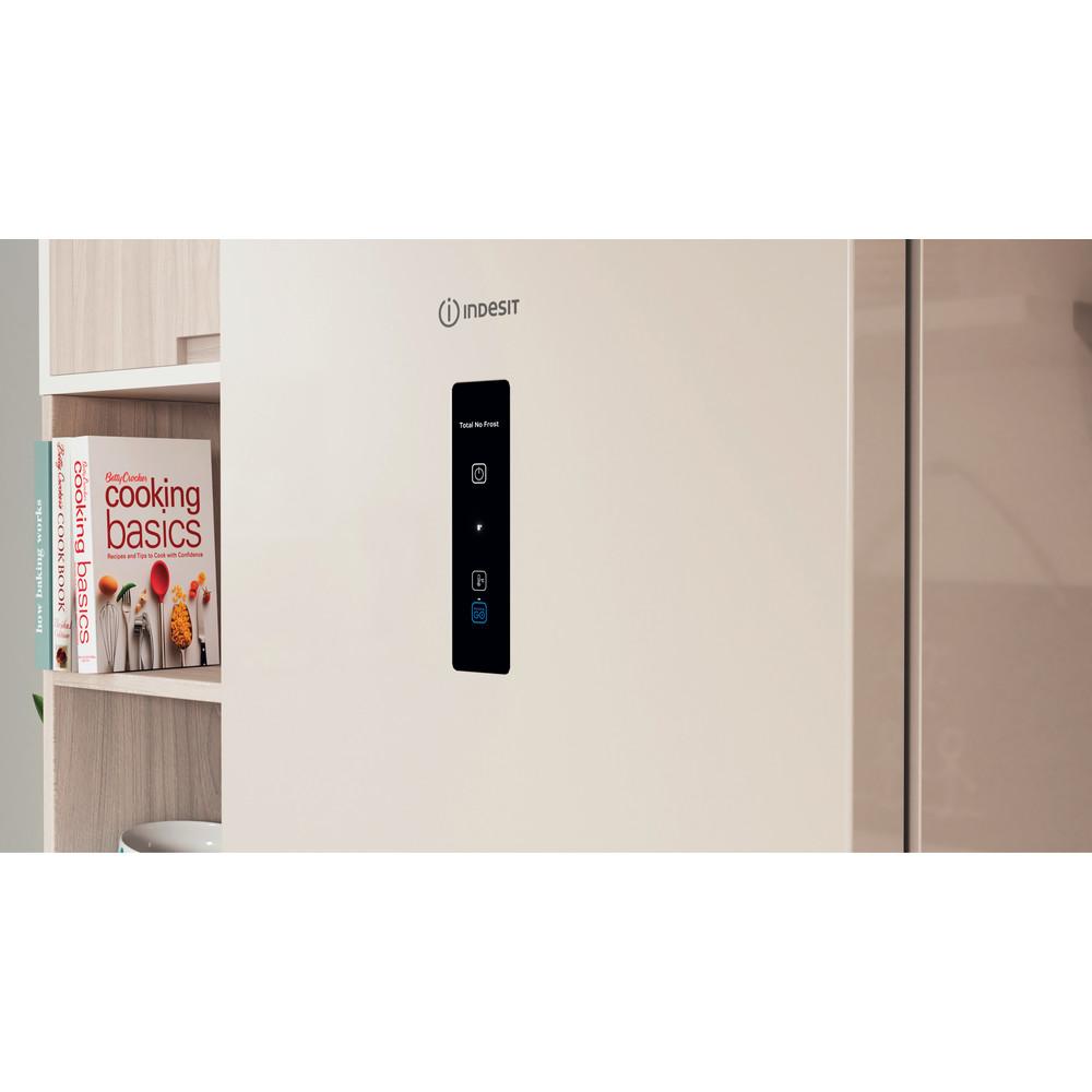 Indesit Холодильник с морозильной камерой Отдельностоящий ITR 5180 E Розово-белый 2 doors Lifestyle control panel