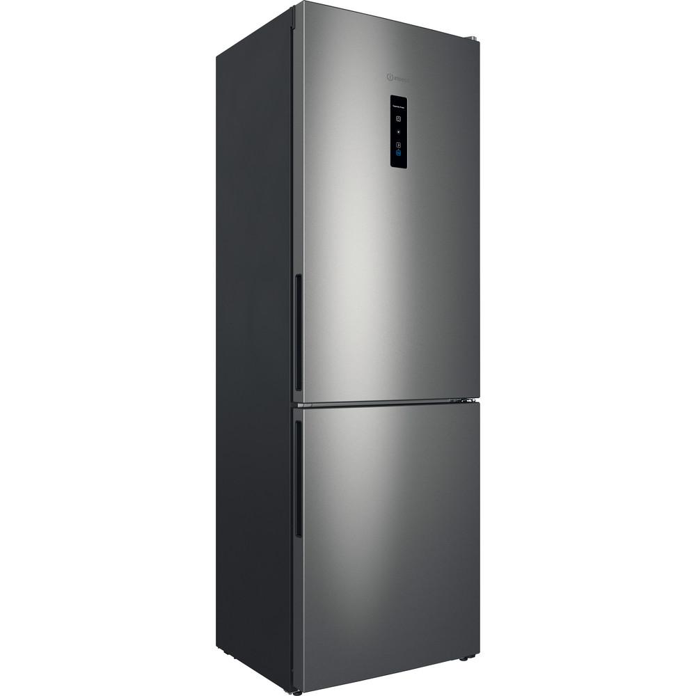 Indesit Холодильник с морозильной камерой Отдельностоящий ITR 5180 S Серебристый 2 doors Perspective