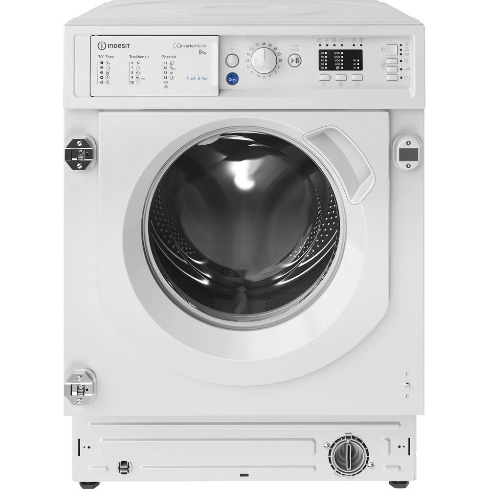 Indesit Máquina de lavar roupa Encastre BI WMIL 81284 EU Branco Carga Frontal C Frontal