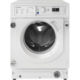Máquina de lavar roupa de carga frontal de encastre Indesit: 8 kg