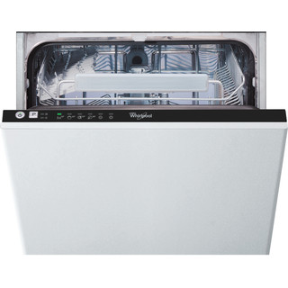 Посудомийна машина Whirlpool інтегрована: чорний колір, вузька - ADG 221