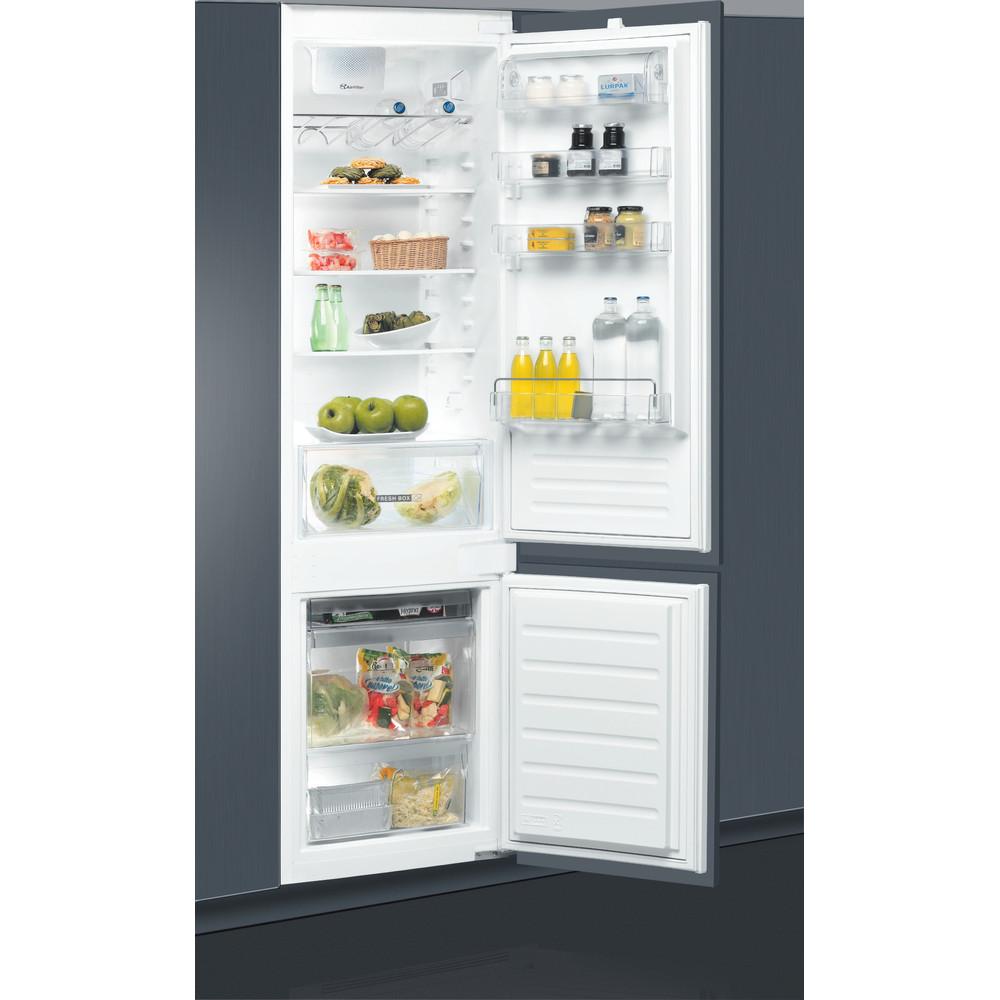 Холодильник Whirlpool з нижньою морозильною камерою вбудований - ART 9610/A+