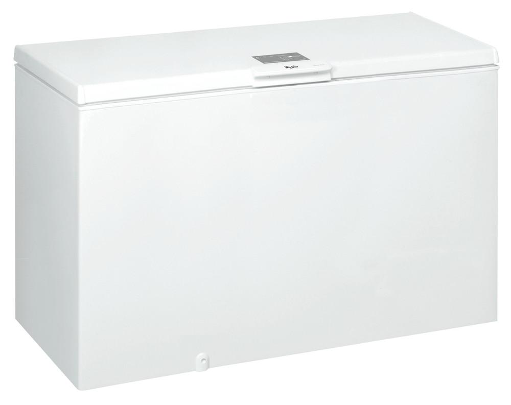 Whirlpool Pakastimessa Vapaasti sijoitettava WHE 4600 Valkoinen Perspective