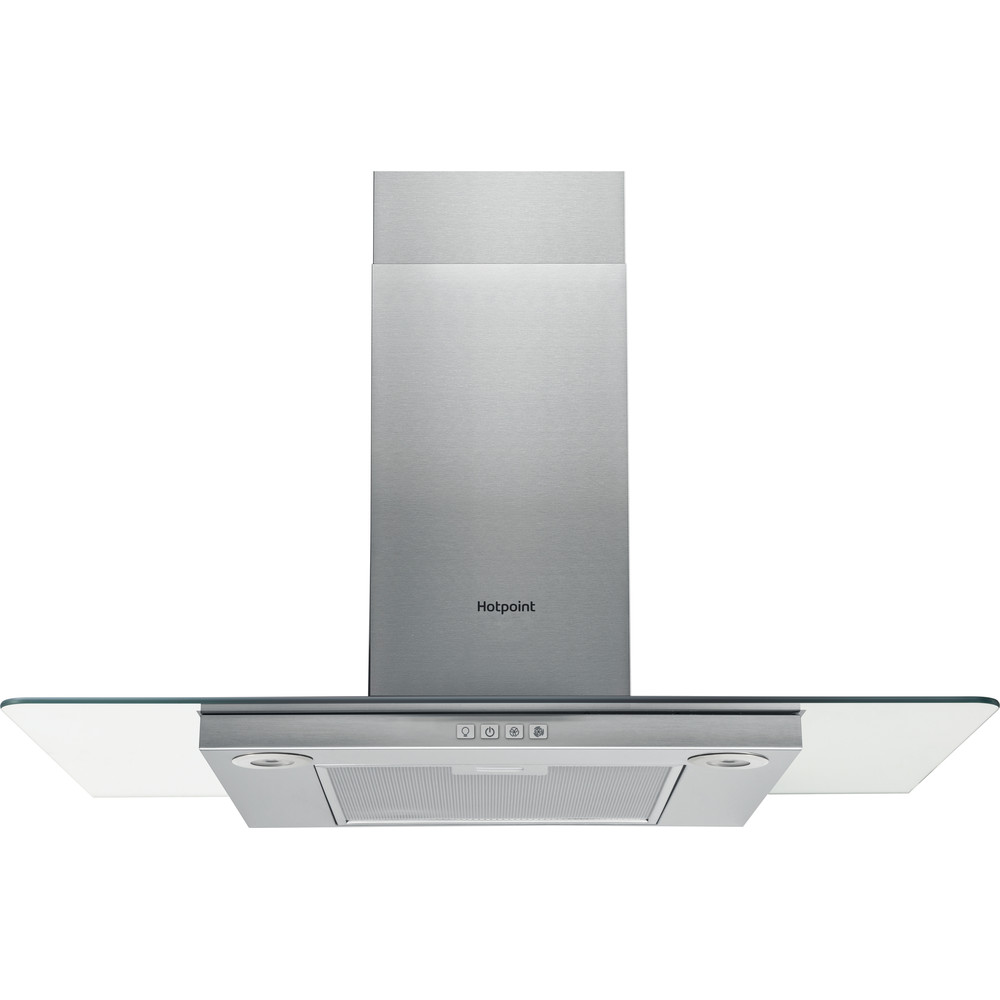 Hotpoint HOOD Built-in PHFG9.4FLMX Inox Wall-mounted Mechanical Frontal