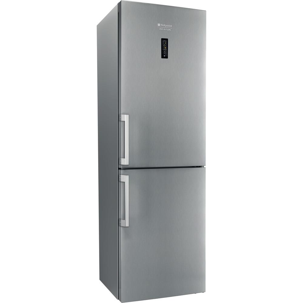 Hotpoint_Ariston Комбинированные холодильники Отдельностоящий HFP 6180 X Зеркальный/Inox 2 doors Perspective