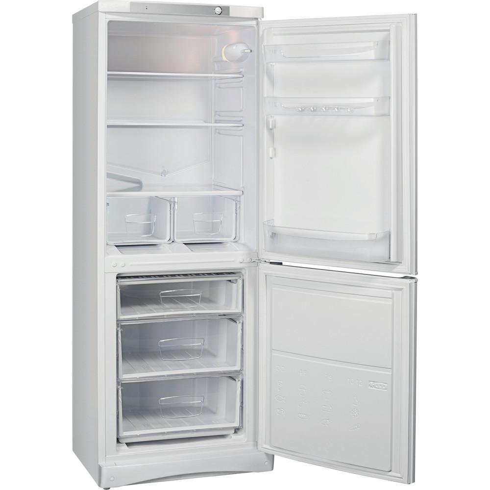 Indesit Холодильник с морозильной камерой Отдельностоящий ES 16 Белый 2 doors Perspective open