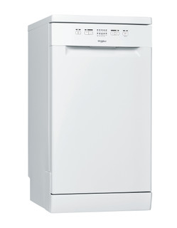Whirlpool mašina za pranje sudova: bela boja, uska - WSFE 2B19 EU