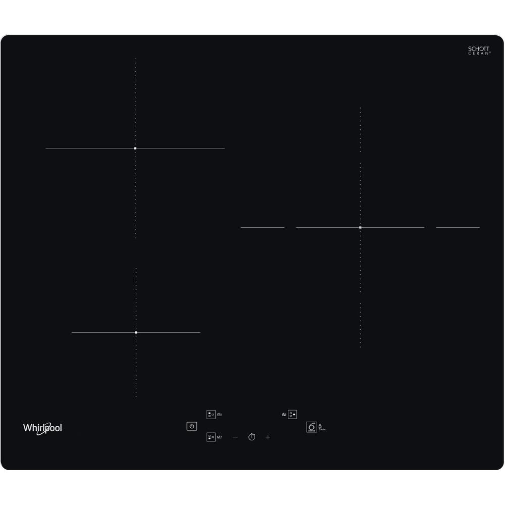 Placa de inducción Whirlpool - WS Q1160 NE - 3 Zonas - Mando Control Touch